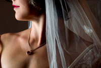 © 2012 Ian Holyoak - Colleen the Bride Wearing Heart Pendant