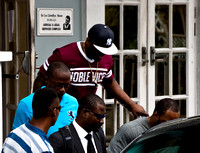 Rapper 50 cent leaving St. Kitt's Court